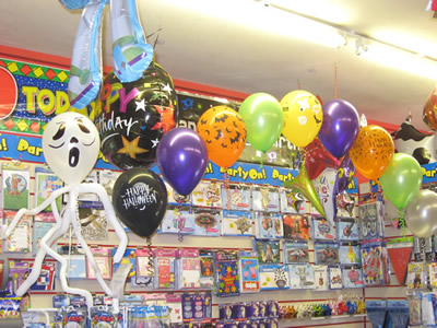 Party balloons at no1 the green bishops cleeve cheltenham